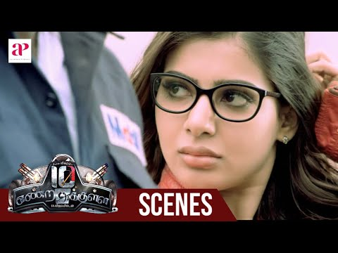 10 Endrathukulla Movie | Fight Scene | Vikram saves Samantha | Abhimanyu Singh tensed about Samantha