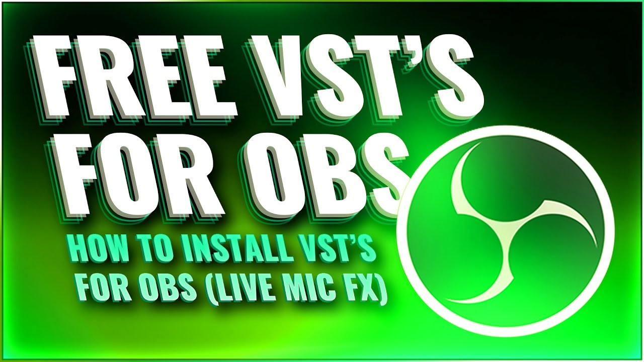 HOW TO: VST'S / MIC PLUGINS IN OBS (Live effects are so much easier now)