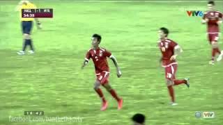 Công Phượng bùng nổ U21 HAGL vs U21 Myanmar 4-3 Ngay 24/11/2015