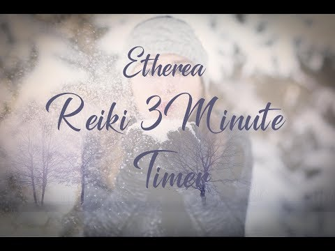 Reiki Timer 3 Min - Angelic Reiki Music with Bells Every 3 Minutes - 26 Positions