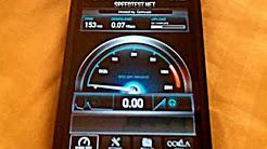 iPhone 5 Sprint 3G Speed Test