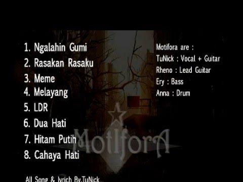 Full album pertama Motifora HITAM PUTIH (Ngalahin Gumi)