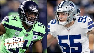 Dallas Cowboys vs. Seattle Seahawks: Who has the better defense? l First Take