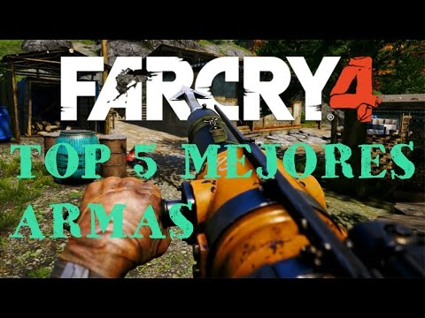 TOP 5 |ARMAS MÁS PODEROSAS DE FAR CRY 4