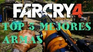 TOP 5 |ARMAS MÁS PODEROSAS DE FAR CRY 4