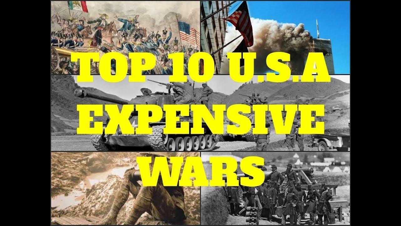 Top 10 U.S.A  Expensive Wars