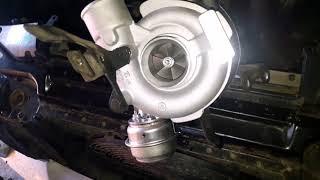 Замена турбины М57 E53 БМВ Х5