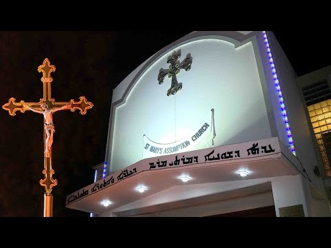Holy Mass + st mary's assumption chaldean catholic church(DURAED PRODUCTIONS)
