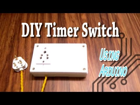 DIY Arduino Programmable On/Off Timer Switch for Automation Hydroponics