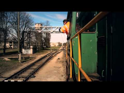 Zižļu aparāts\Жезловой аппарат\Token (railway signalling) 2014 HD