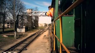 Zižļu aparāts\Жезловой аппарат\Token (railway signalling) 2014 HD