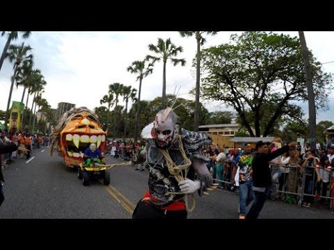 Gran cierre Carnaval 2017 santo domingo - última parte