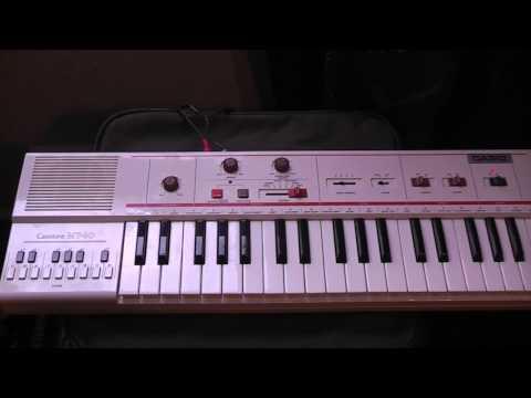 Casio MT-40 keyboard (sleng teng riddim)
