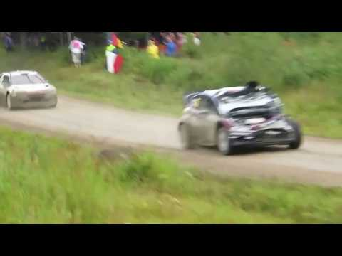 WRC Amazing Scenes 2  (From The Stages/Crazy Fans)