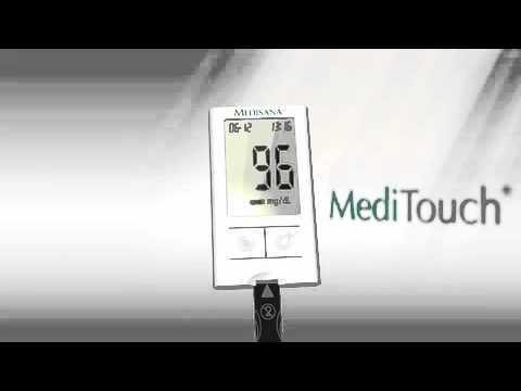 Medisana MediTouch Blutzuckermessgerät mg/dl im Detail-Check
