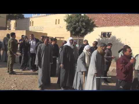 Egypt's constitution referendum 2014- Aswan's polling station