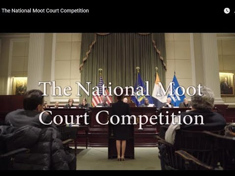 The National Moot Court Competition