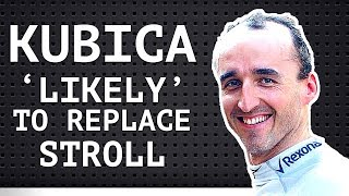 """Kubica 'Likely' to Replace Stroll - 3 Car F1 Teams - Sainz Calls Himself and Verstappen """"Egotistic"""""""