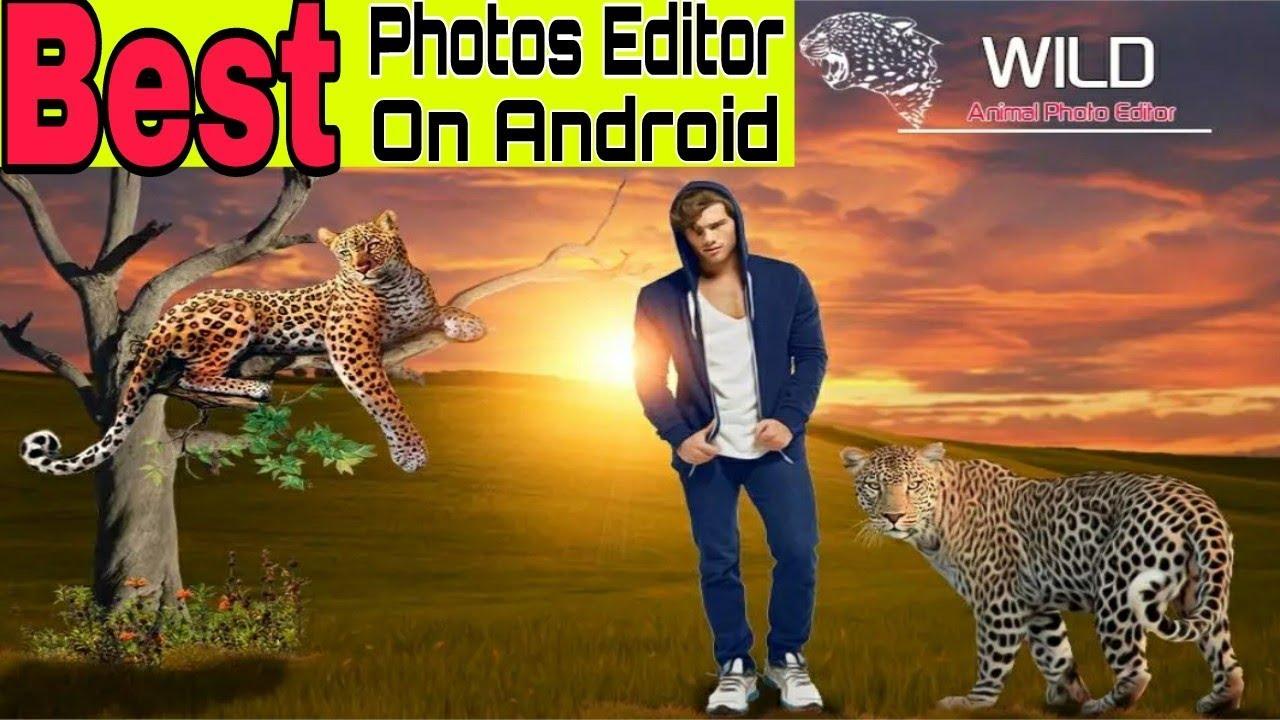Best Wild Animal Photo Editor Latest App On Android Youtube
