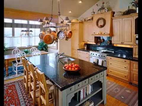 Decorating ideas above kitchen cabinets - YouTube