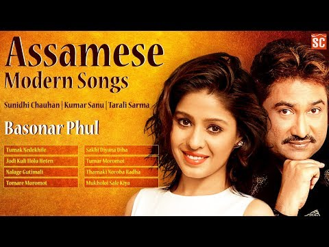 Best Assamese Modern Songs | Kumar Sanu | Superhit Sunidhi C