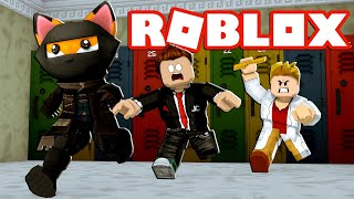 ROMAN & LARS BLACK SINZEN THE SCHOOL! - Roblox [English/HD]