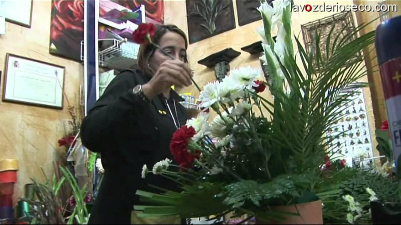 Las flores de los santos en medina de rioseco youtube - Hacer un centro de flores ...