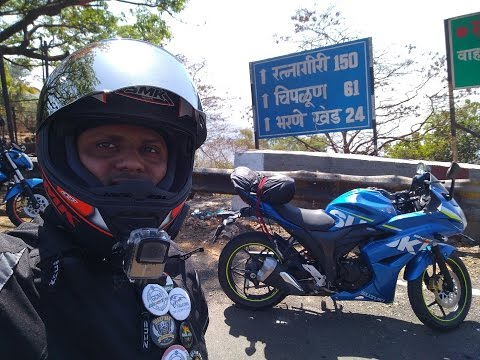 RIDE MUMBAI TO GUHAGAR | Day 1 | KOKAN RIDE | GCM | GIXXER SF