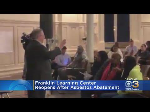 Franklin Learning Center In Spring Garden Deemed Safe After Asbestos Concerns