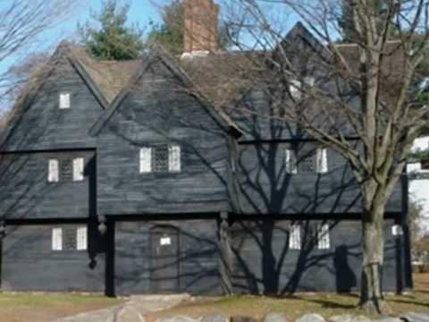 THE SALEM WITCH HOUSE AND TRIALS