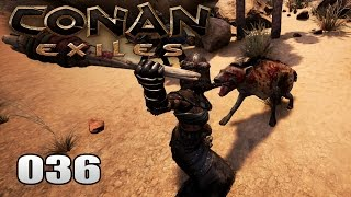 CONAN EXILES [036] [Der Hyänen Knüppel Test] Gameplay Deutsch German thumbnail