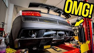 "My Cheap Lamborghini's ""Budget"" Bumper Upgrade Looks INSANE!!"