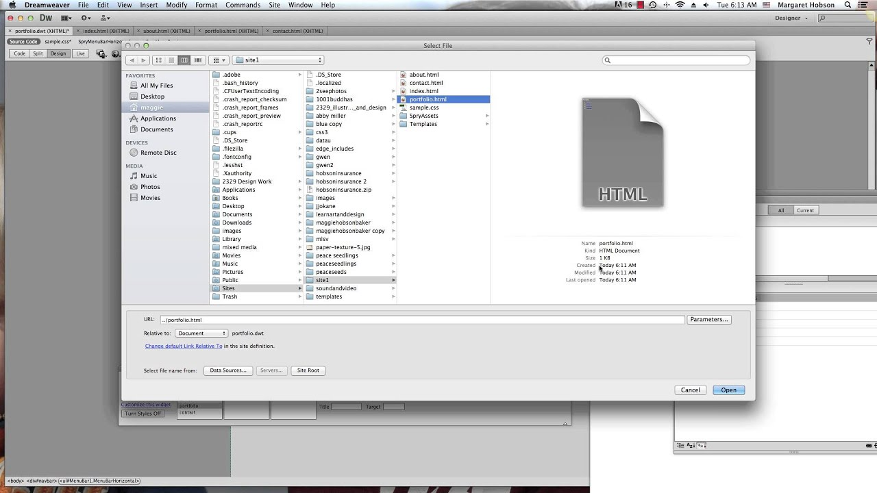 Creating templates in dreamweaver cs6 youtube for Templates for dreamweaver cs6