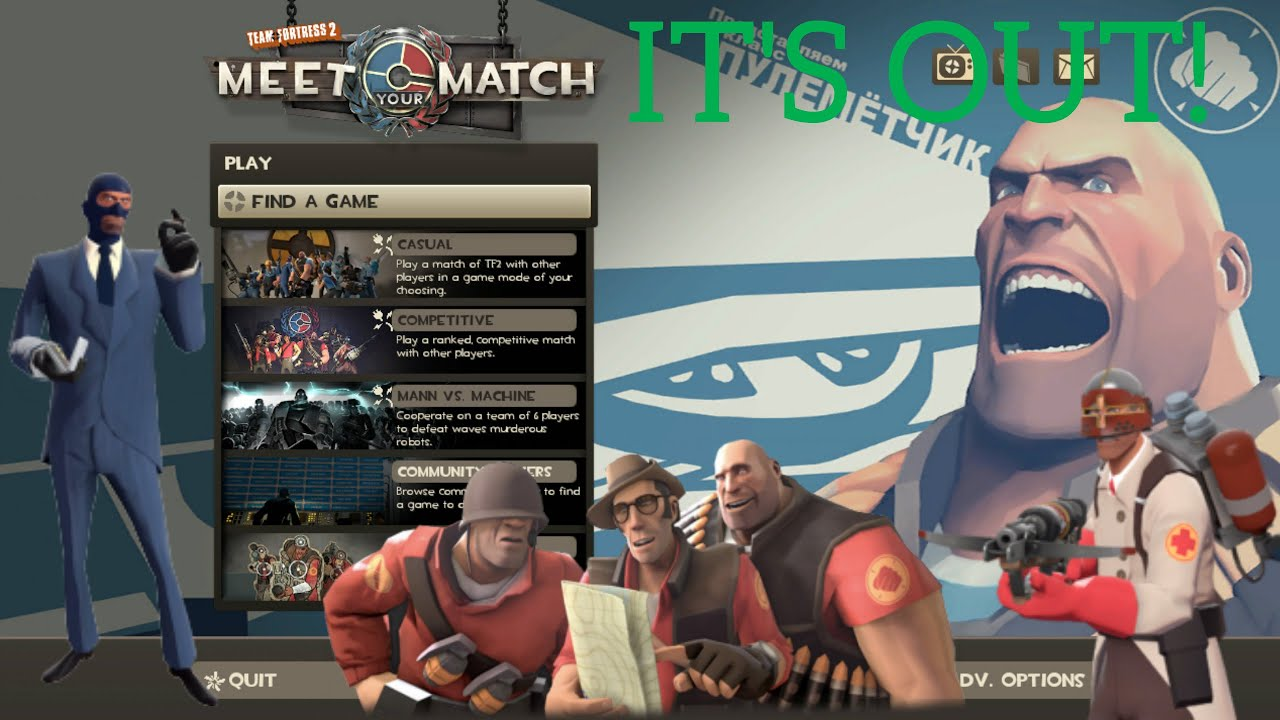 how to make a server in tf2 meet your match