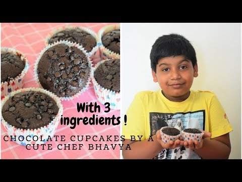 अब केक बनाना है बच्चों का खेल| Biscuit Chocolate Cupcakes| Easy recipe for begginners|FoodConnection