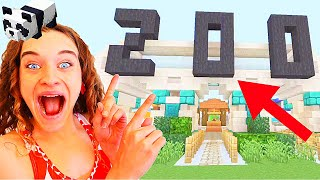 WHO MAKES THE BEST ZOO IN MINECRAFT Competition w/ The Norris Nuts