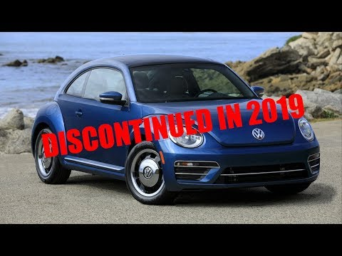 VW Squashes the Bug! Beetle Discontinued in 2019