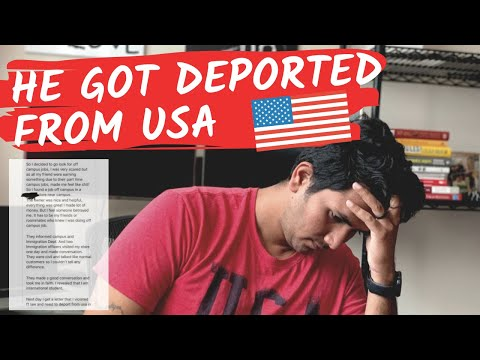 """""""He got Deported From USA Because ..."""" - Don't Do This in USA!"""