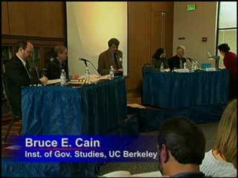 Berkeley Symposium on Same Sex Marriage: Politics