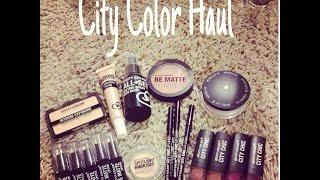 City Color Cosmetics Reseña y  donde conseguirlo