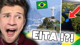 Crazy Facts About Brazil YOU DIDN'T KNOW ! |🇬🇧 Gringo Britânico Reagindo