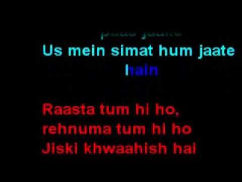 Bakhuda Tumhi Ho Karaoke song | Atif Aslam | Shahid kapoor