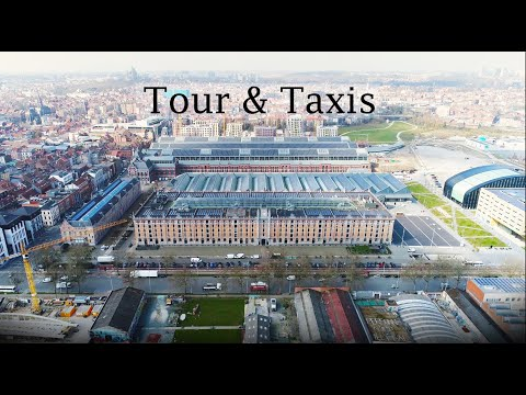 Brussels   Tour & Taxis   2021   Drone   4K