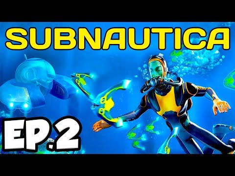 Subnautica Ep.2 - AURORA SHIP EXPLOSION, RADIATION SUIT & MORE! (Full Release Gameplay / Let's Play)