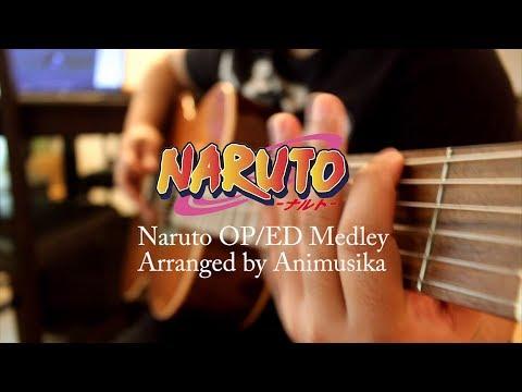 Naruto OP/ED Medley Guitar Cover