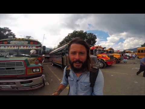 Discovering Antigua Guatemala and Volcano Acatenango - Trip Therapy - GoPro Hero HD