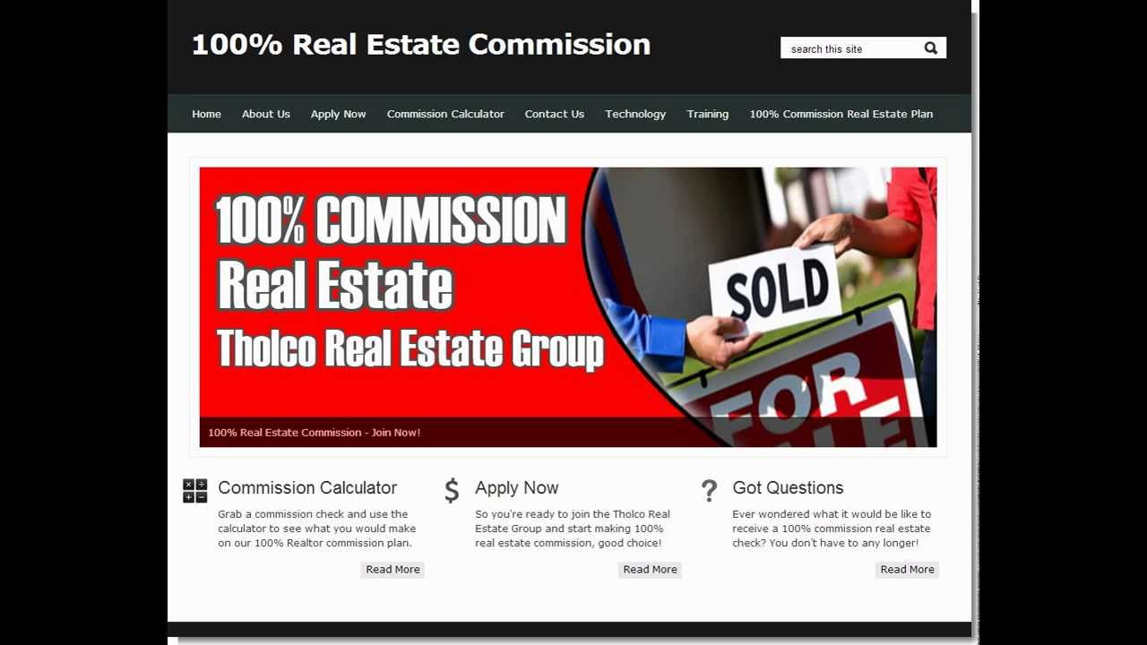 calculate real estate commission best