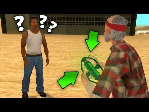 ЧТО ЭТО ТАКОЕ ??? Тайна зеленой жидкости РАСКРЫТА - главный секрет Праведника в GTA: San Andreas !!!