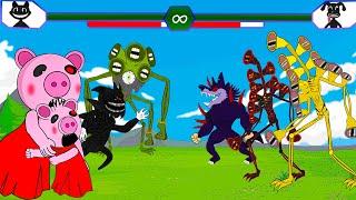 Siren Head Gold, Cartoon Cat, Cartoon Dog Play Game +More   Roblox Piggy Animation  GV Studio