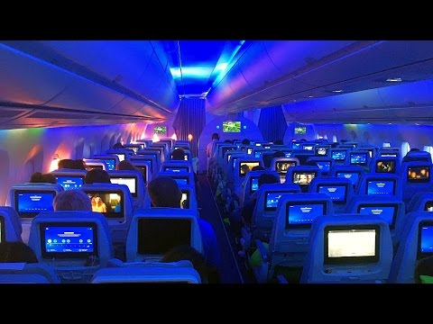 Inside Finnair Airbus A350-900 XWB (Shanghai, Hong Kong, London)
